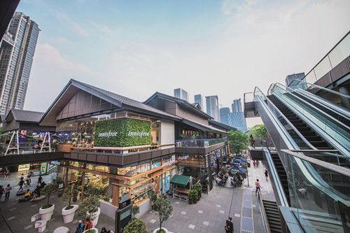 锦江区的太古里商圈。图片由锦江区委宣传部提供