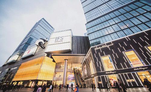 锦江区IFS广场。图片由锦江区委宣传部提供