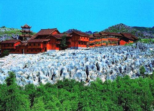 位于兴文县的兴文石海地质公园。图由兴文宣传部提供