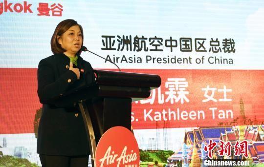 图为亚洲航空中国区总裁陈凯霖。 安源 摄