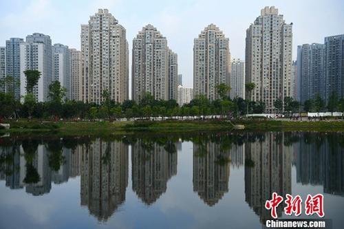 资料图:图为重庆主城区内的高楼。中新社记者 陈超 摄