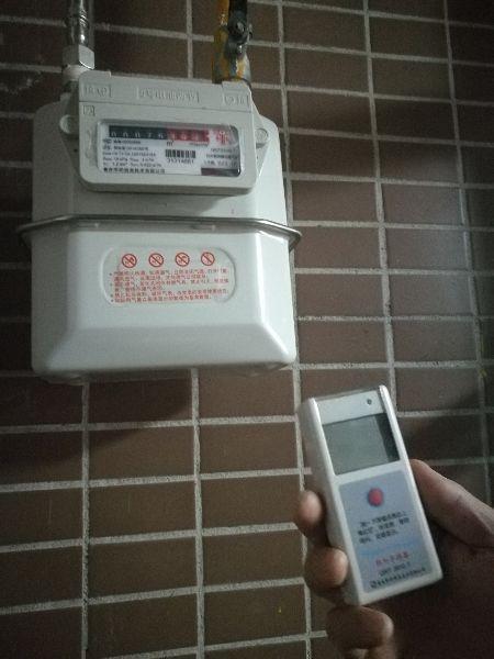 图为智能燃气表。 梓潼县住建局提供