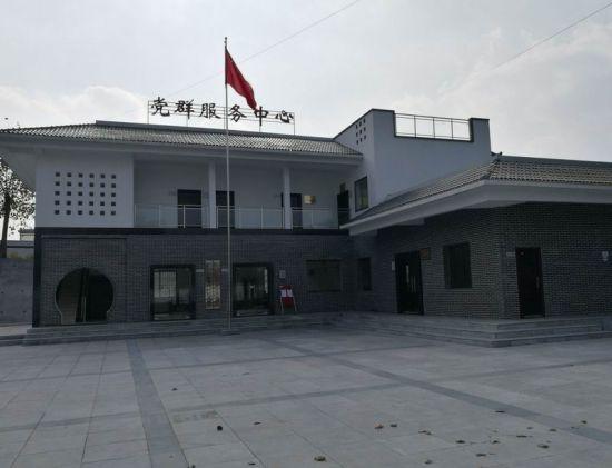 舒安村党群服务中心(熊文博 摄)