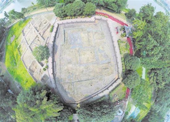俯瞰邛窑遗址公园 本报资料图片