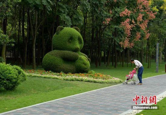 熊猫绿道。刘忠俊 摄