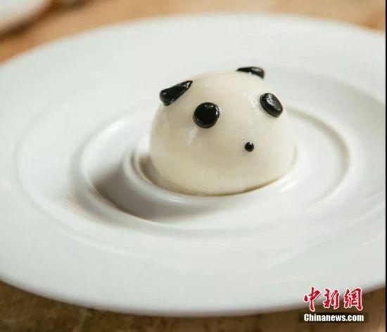 熊猫元素美食。钟欣 摄