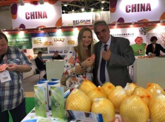 绵阳梓潼首个农产品出口欧洲―中