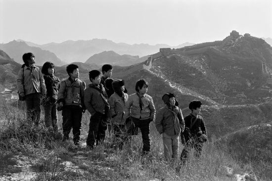 解海龙作品——河北滦平县金山岭小学,1991年