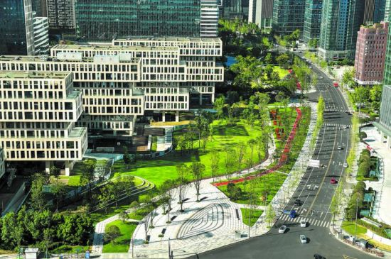 吉泰路绿道 成都高新区供图