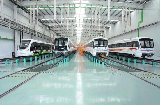 新都针对轨道交通、航空产业、物流装备制造三大主导产业,精准研究产业发展方向,加大项目招引力度,推动产业高质量发展