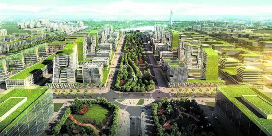 成都(简阳)空天产业园效果图