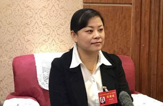 省人大代表曾道群(自贡市委宣传部 供图)