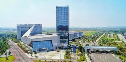 双流综保区国际商品展示交易中心。