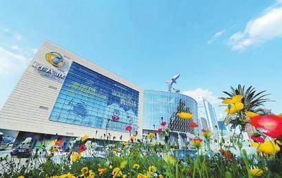双流大型商业综合体海滨城。