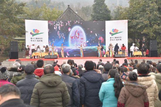 成都青白江第十二届杏花(果)生态旅游节启幕。