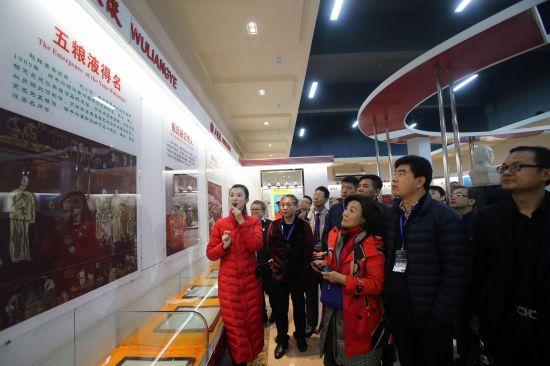 航拍美高梅国际娱乐平台宜宾长宁梅白乡五粮液专用粮基地。