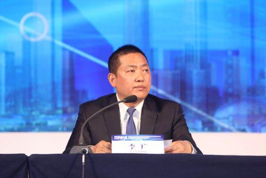 天府新区成都管委会基层治理和社会事业发展局局长李广。