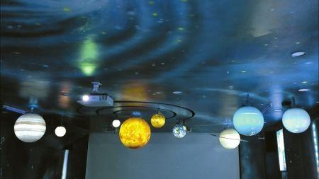 踏�M�@��社�^天文�^,�o人置身于浩瀚宇宙的感�X。