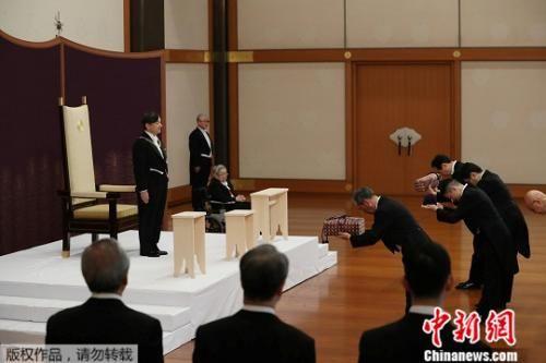 """当地时间5月1日上午,新日本天皇德仁正式即位,开启""""令和""""时代。"""
