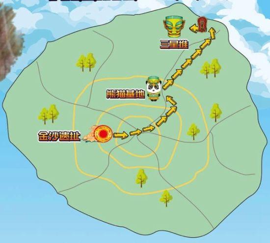 成德国宝旅游专线正式开通啦!一次耍够金沙遗址、熊猫基地和三星堆