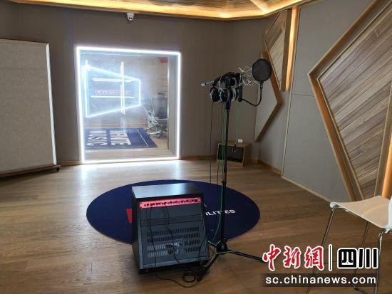 无限可能音乐有限公司云顶国际博彩分公司录音室。