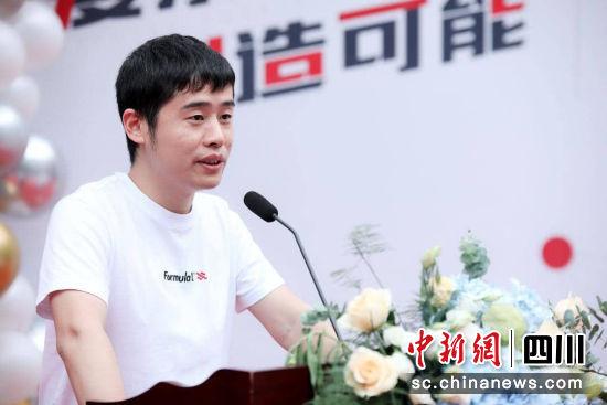 无限可能音乐有限公司CEO刘克江。