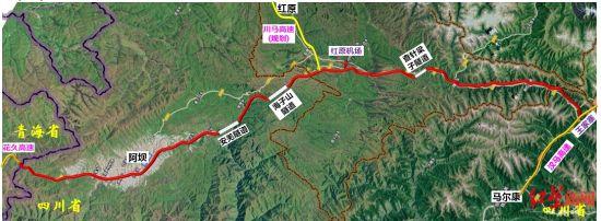 快乐赛车网站四川到青海将新建高速 成都驾车6小时跑到青海界
