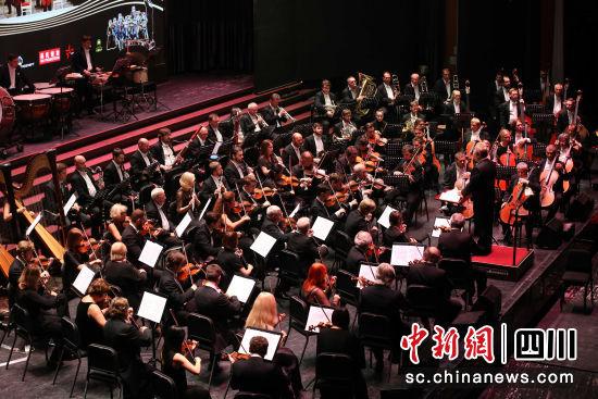 图为音乐会现场。