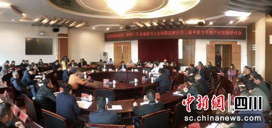 盐源县召开第三届苹果节苹果产业发展研讨会