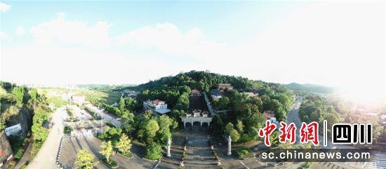 安岳县圆觉洞风景名胜区。吴双桂 摄