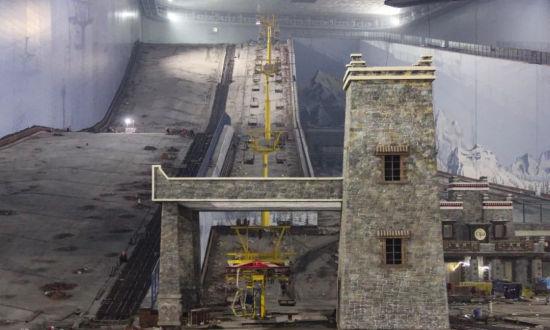"""[推荐]都江堰的这台""""超级大冰箱""""要开始制冷造雪啦"""