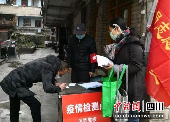 党员志愿服务(雨城融媒体 供图)