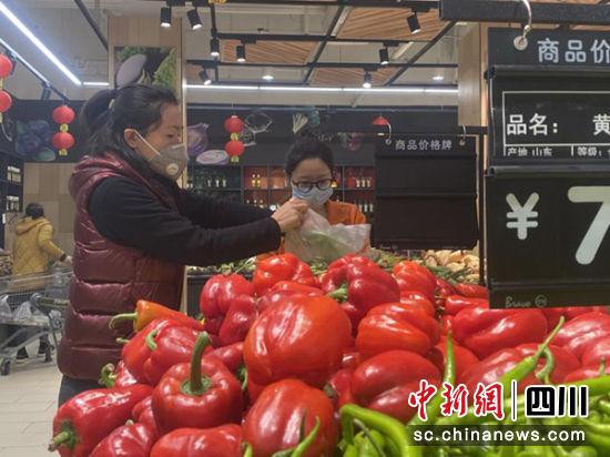 """绵阳游仙区:稳价保供 战""""疫"""""""