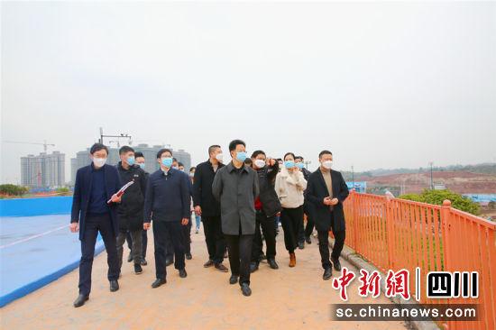 大安区委书记张昭国带队调研疫情