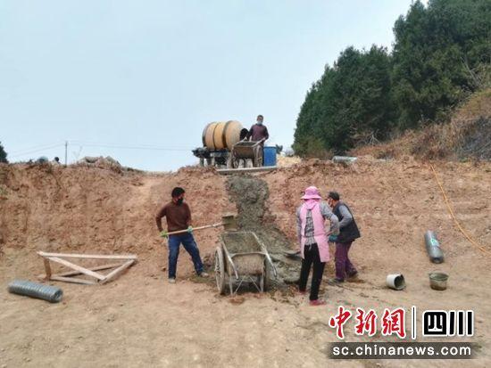 绵阳盐亭项目复工和产业发展