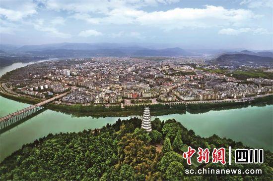 阆中古城。张晓东 摄