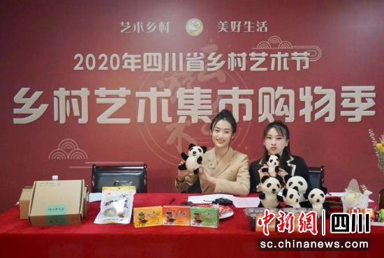 2020年四川省乡村艺术节活动现场