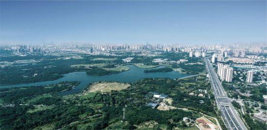 青龙湖实拍图