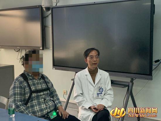 """四川地区首例""""火箭心""""植入患者顺利出院"""