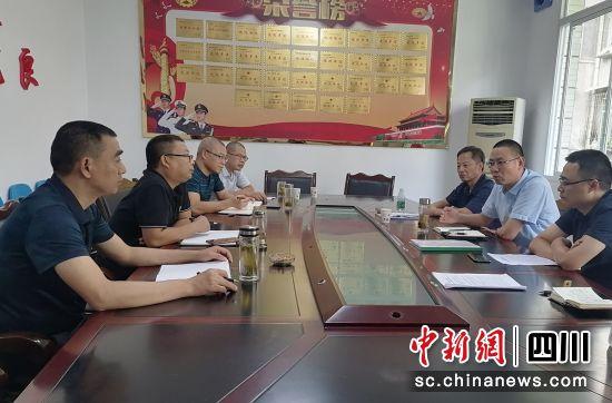 商议社区治理工作(荣县民政 供图)