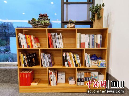 图为阅读创想区。刘丹摄