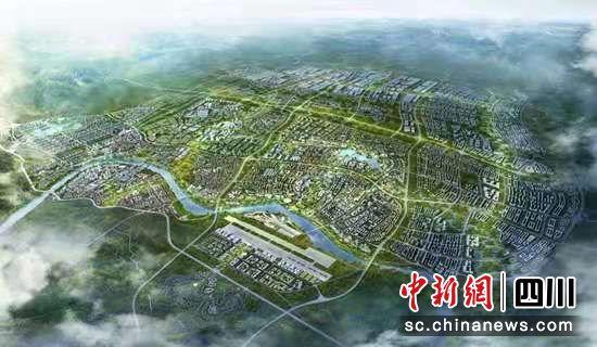 淮州新城效果图。