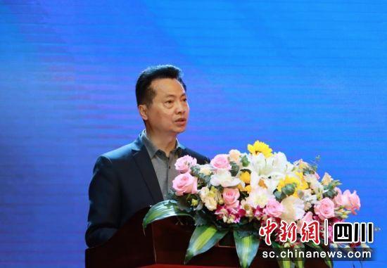 四川省教育厅二级巡视员王羽致辞。主办方 供图