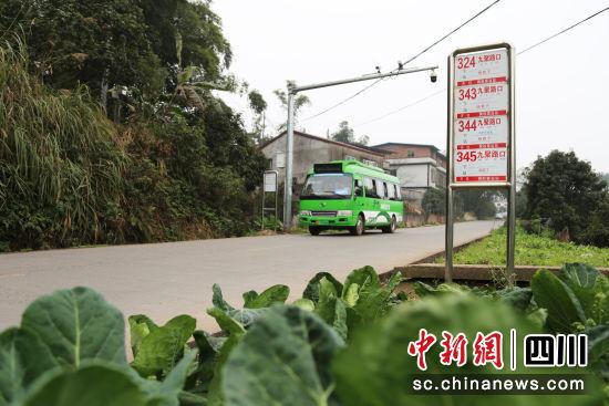 农村公交全覆盖。