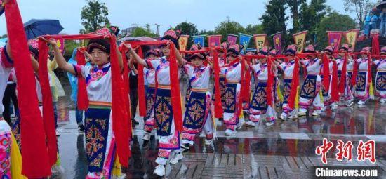 第三届海峡两岸大禹文化交流活动在四川北川举行