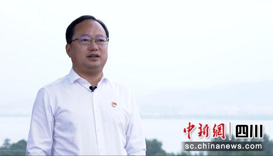 西昌市委书记马辉。(西昌市文化广播电视和旅游局 供图)