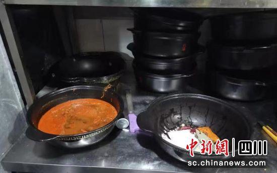 广元苍溪姚某使用回收油加工制作食品案现场。省市场监管局供图