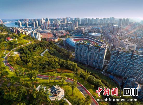 简阳城市美景。简阳市委宣传部 供图